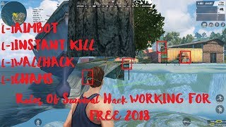 ✅Rules of Survival Complete Hack Work ✅New Update Undetected 14/02/2018 💥 ROS Hack Aimbot Free 2018
