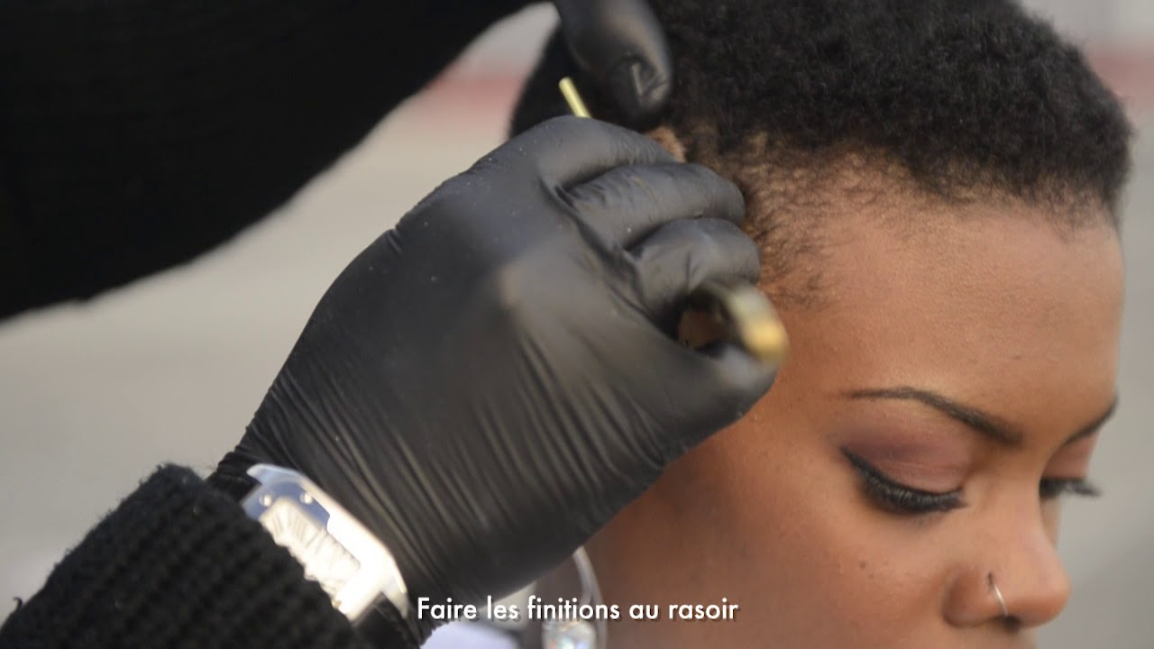 Coupe Afro Femme Avec Tondeuses Haircut Th25pro Et Th24st Par Guy Haircut