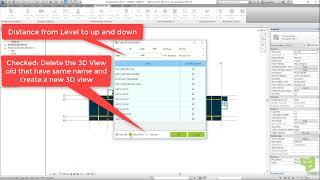س'Apps - إنشاء 3D وجهات النظر حول مستوى