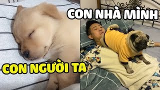 Con người ta ngủ ĐÁNG YÊU - con mình ngủ ĐÁNG ĐÁNH| Yêu Lu Official