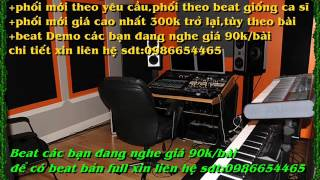 karaoke beat gửi người về cát bui-duy khánh