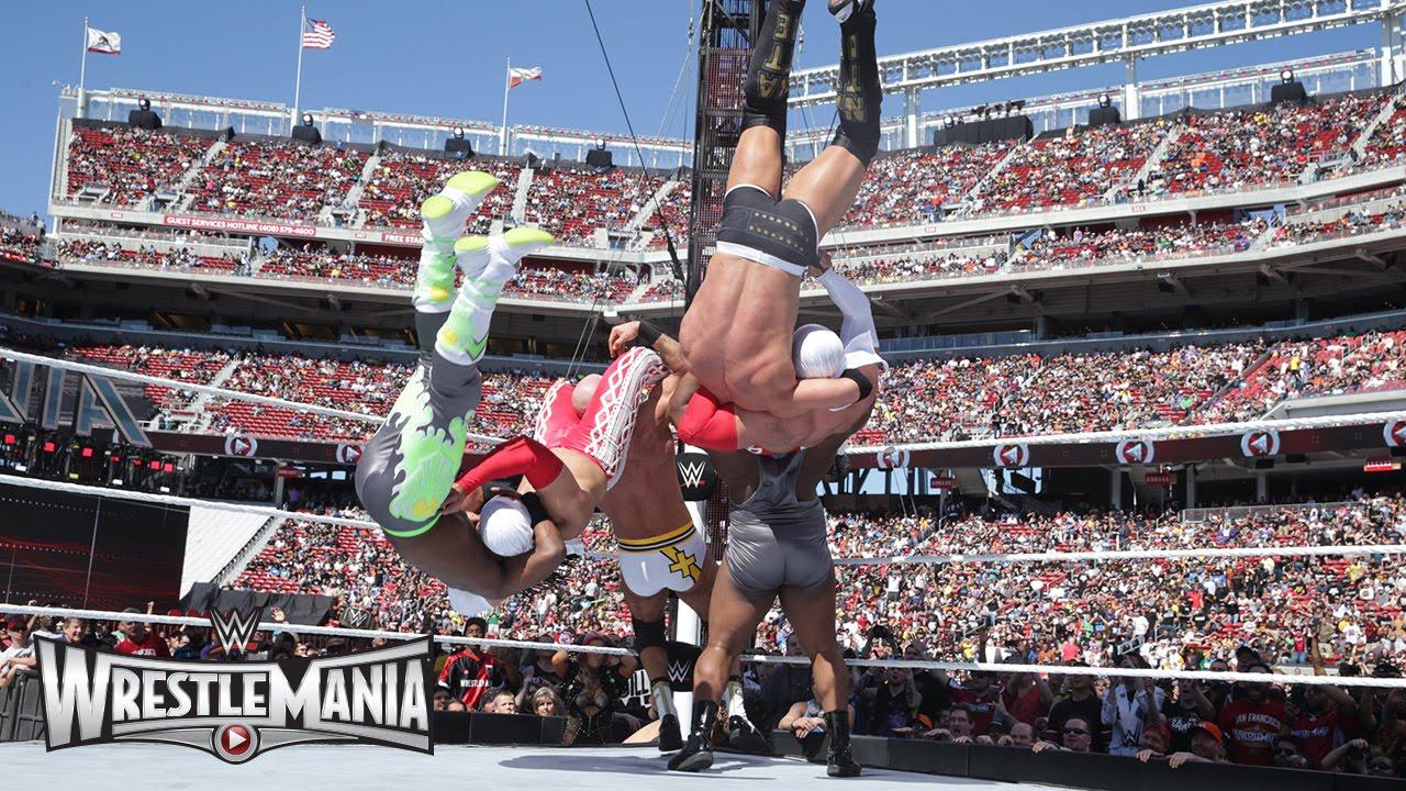 Fatal 4-Way WWE Tag Team Championship Match: WrestleMania 31 Kickoff