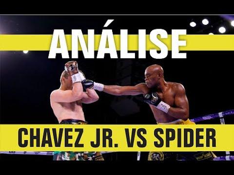 "ANÁLISE: CHAVEZ JR. VS ANDERSON ""SPIDER"" SILVA"