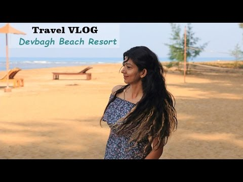 Devbagh Beach Resort - Travel VLOG - Indian Youtuber