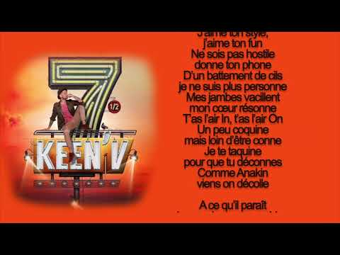 Keen'v -  Tu Réalises (video Lyrics Officielle)