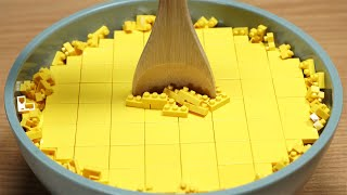 Lego Waffles and coffee - Lego In Real Life 5 / Stop Motion Cooking  ASMR