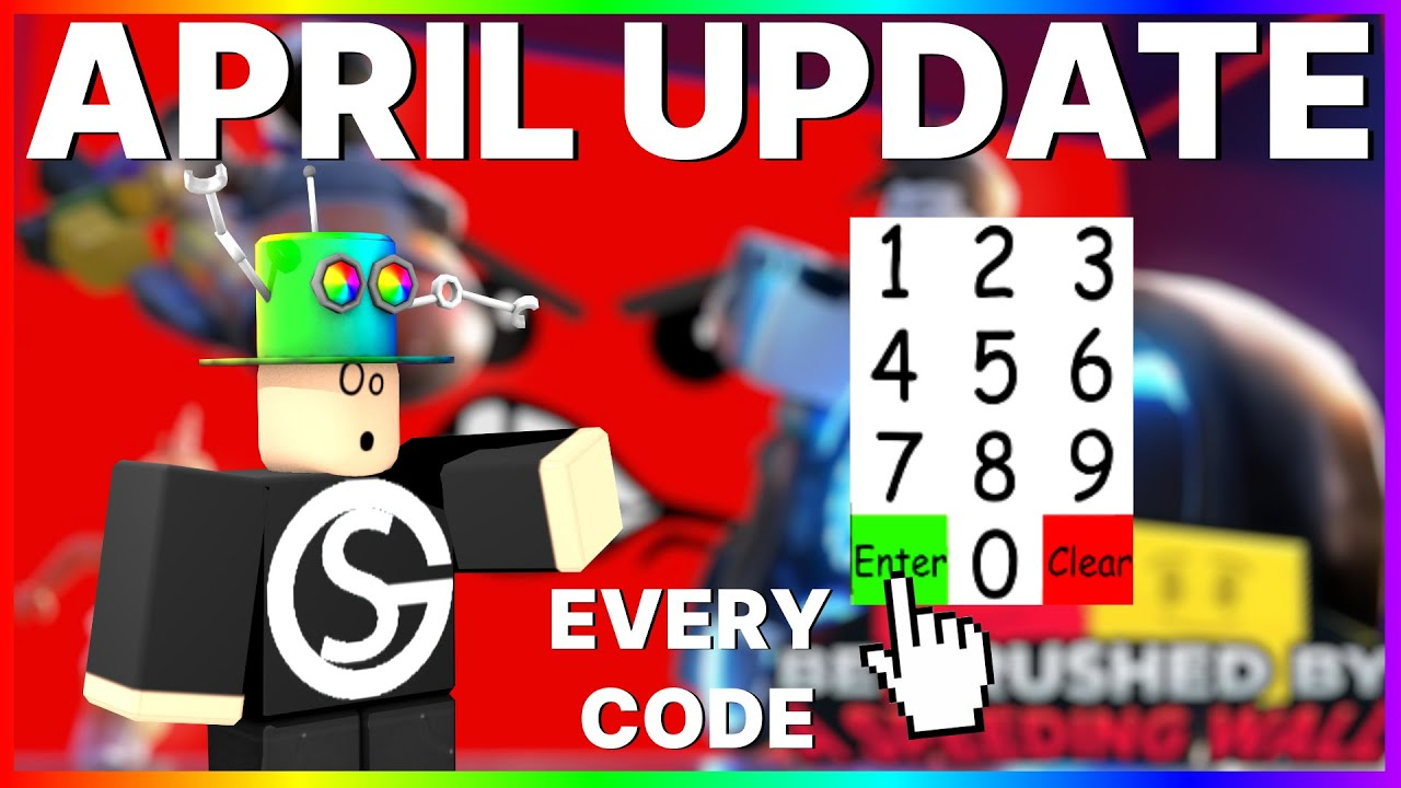 Be Crushed By A Speeding Wall Codes April 2020 Working Youtube