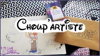 Choup'artiste - Un nouveau dessin pour mon fond ♥