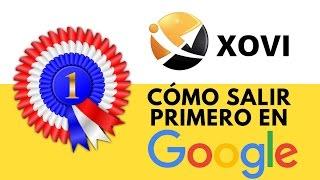 Lección 16: ✅ HERRAMIENTA SEO - XOVI - Cómo salir primero en Google   CURSO SEO GRATIS