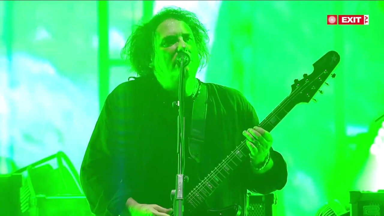 Download THE CURE - A Forest - Live At EXIT Festival 2019