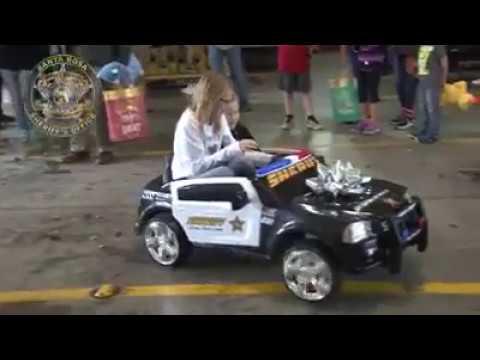 Santa Rosa County Sheriff's Office gives boy police car