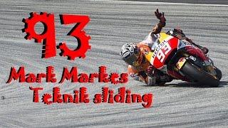 Skill Sliding Marc Marquez ini yang akan taklukkan maverick vinales