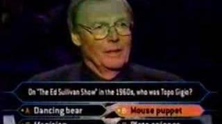 1/2 Adam West on Millionaire (classic tv edition)