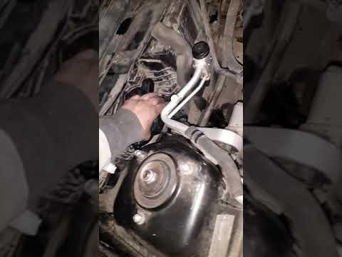 Замена моторчика печки приора, с кондиционером Halla