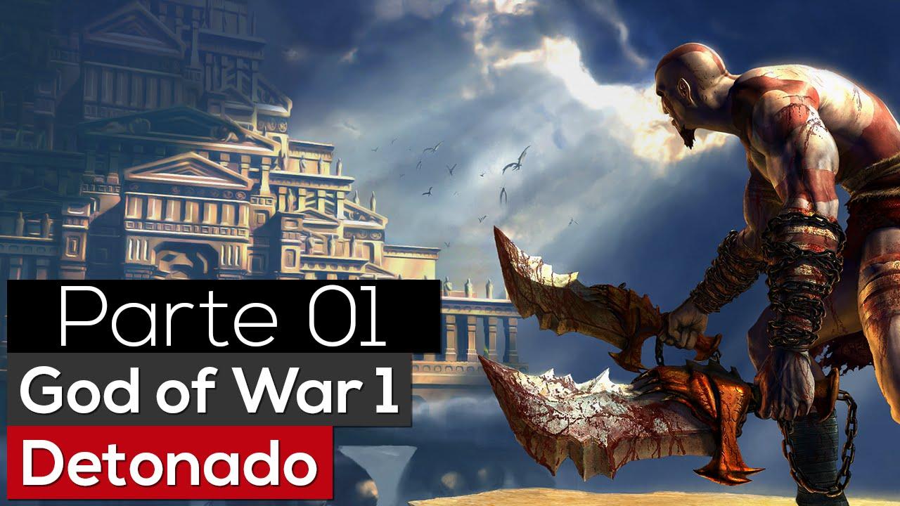 Detonado: GOD OF WAR 1 - O Servo dos Deuses - (1) - YouTube: http://www.youtube.com/watch?v=5dcTXFOdmbo