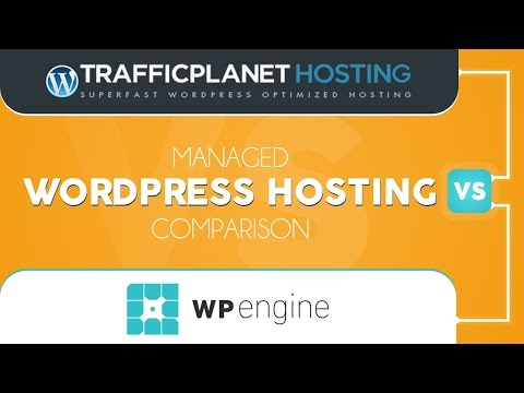 WPEngine vs Traffic Planet Hosting | MANAGED WORDPRESS HOSTING COMPARISON