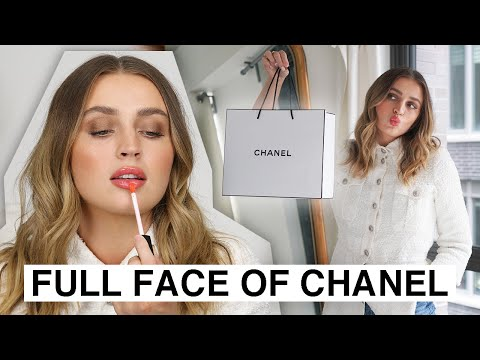 FULL FACE Using CHANEL MAKEUP 🤩