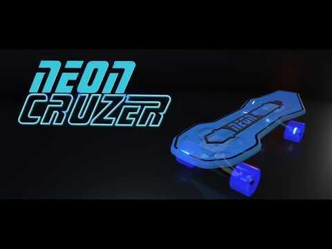 Обзор Скейтборд Neon Cruzer NEON Cruiser Skateboard