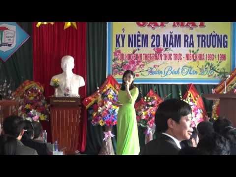 Gặp mặt kỷ niệm 20 năm ra trường cựu học sinh THPT Phan Thúc Trực niên khóa 1993 - 1996