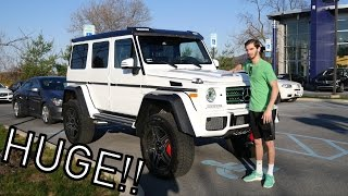 the mercedes benz g550 4x4 squared is massive