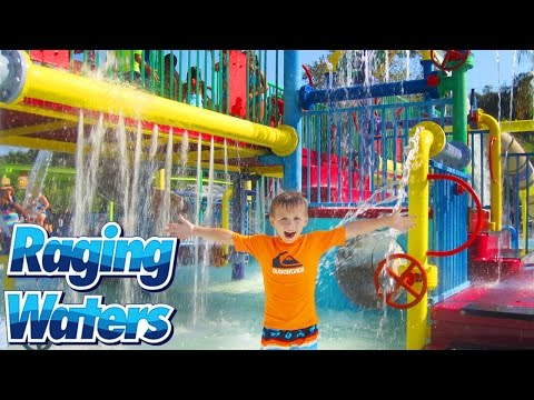 RAGING WATERS -- Largest Water Park in California!!