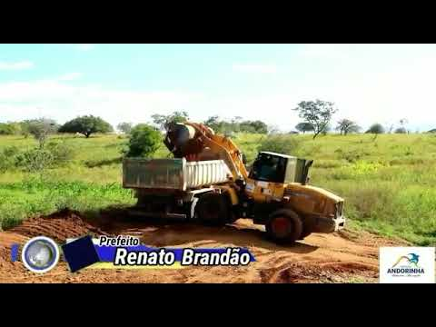 PREFEITURA DE ANDORINHA REALIZA PATROLAMENTO DE ESTRADAS VICINAIS NA REGIÃO DE QUEIMADA GRANDE