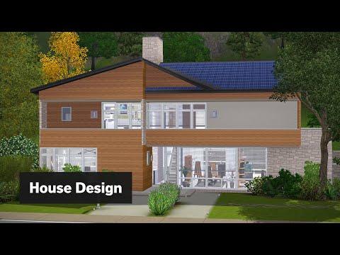 Modern Suburban   The Sims 3 House Building