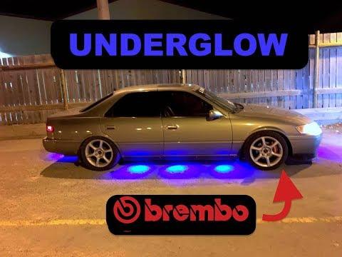 Slamry $80 Underglow + Brembo Brake Install !!!! (JZX90)