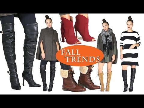 Fall Fashion 2015 Trends & Boots!  Fall Fashion Haul