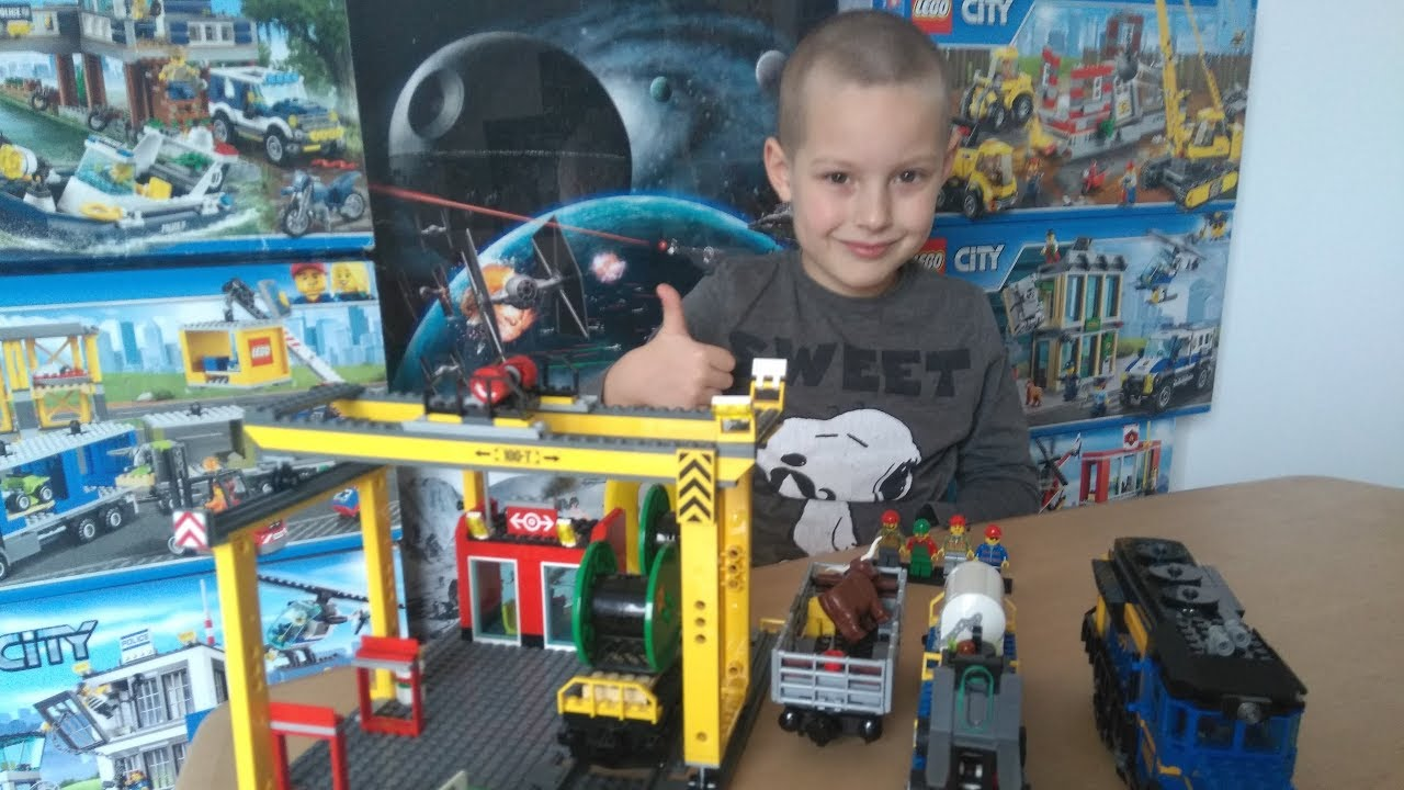 Lego City 60052 Pociąg Towarowy Iggy Tv Youtube