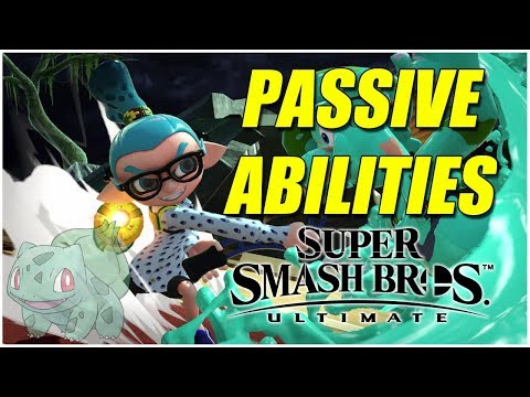 Theory: PASSIVE ABILITIES in SUPER SMASH BROS ULTIMATE?! Shield Plus B Moves! - Pre Release thumbnail