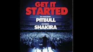 pitbul ft sharkira get it started lyrics in description