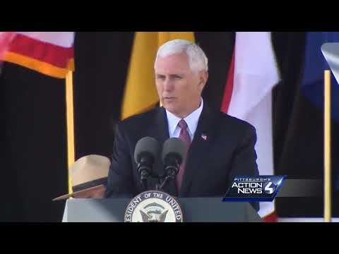Full video: Vice President Mike Pence's remarks during Sept. 11 ceremony at Flight 93 site