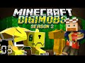 Minecraft: DIGIMOBS (SEASON 2) EP. 3 - Exploring The Area!
