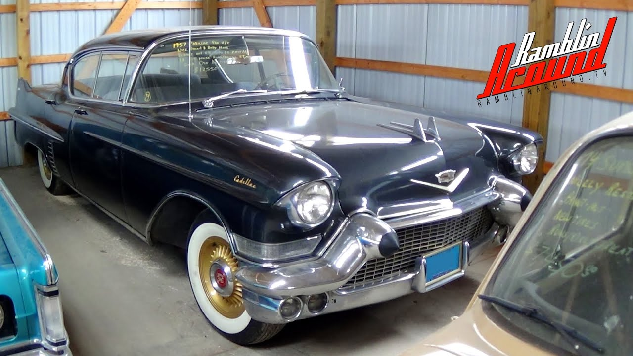 1957 Cadillac Series 62 Four Door Hardtop 365 V8 - YouTube