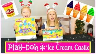 Playdoh - Icecream Castle - Fun kids toy opening !