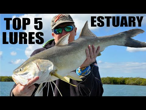 Top 5 Estuary Lures With Paul Chew