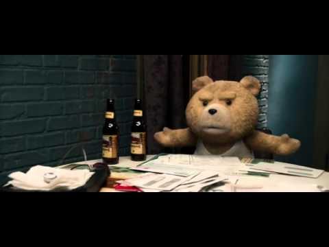 el oso ted discutiendo con su esposa