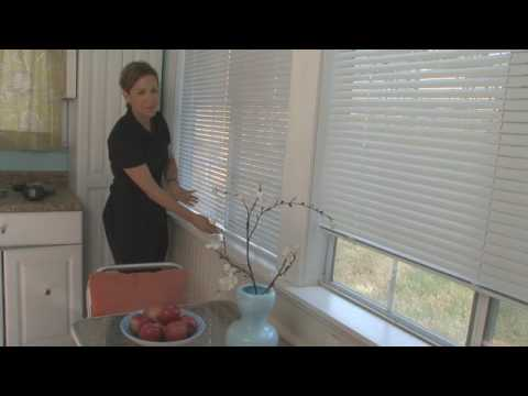 Cordless Aluminum 1 Inch Mini Blinds
