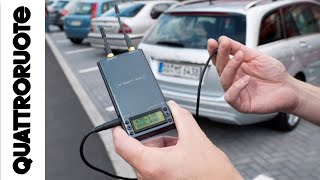Furto in auto senza scasso: colpa di una radio