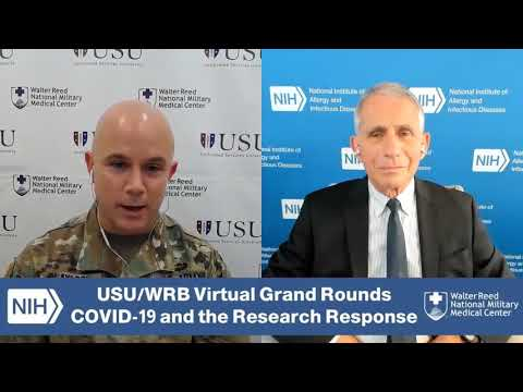 USU/WRB Dept. of Medicine Virtual Grant Rounds: Overview of the COVID-19 Pandemic