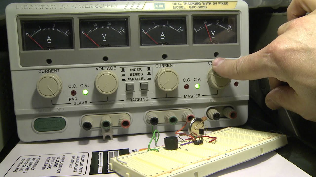 Power Resumption Alarm Circuit