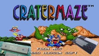 Cratermaze - Level BGM 1 (Konami SCC-style Cover Oscilloscope View)