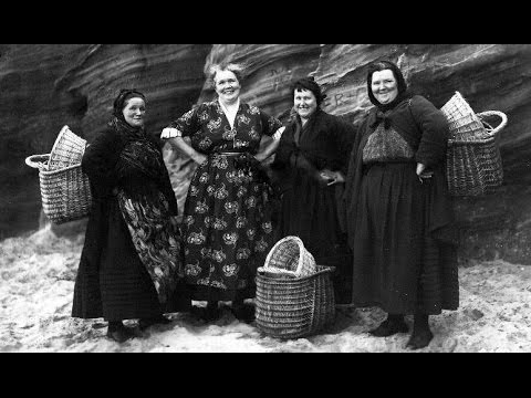 Old Photographs Of Fishwives In Scotland
