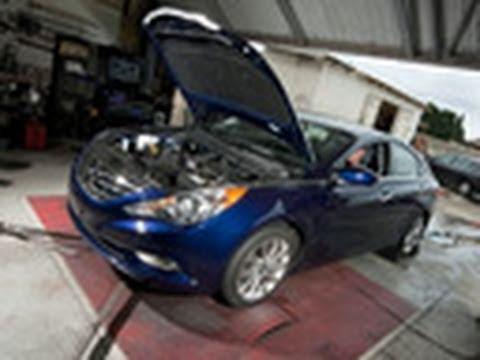2011 Hyundai Sonata 2 0T Turbo | Dyno Test | Edmunds com