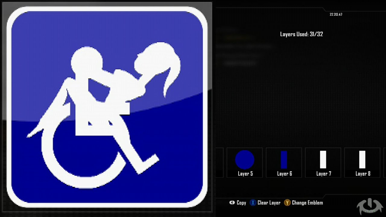 call of duty black ops 2 emblem editor tutorials black ops 2 handicap emblem tutorial the