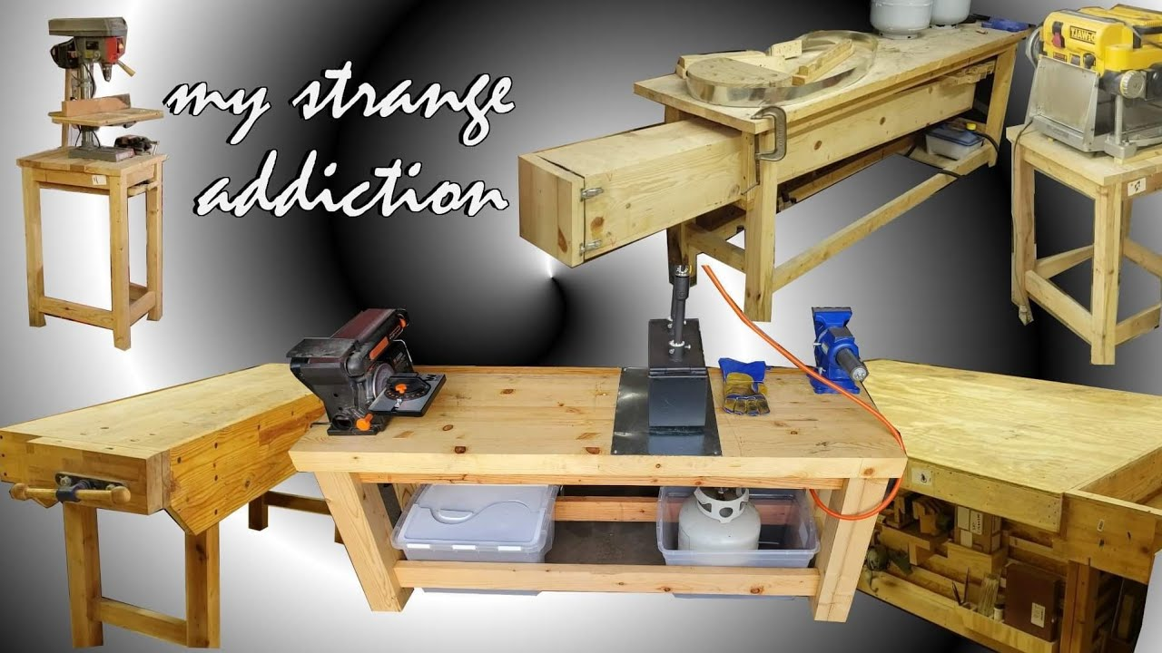 Building a Workbench for a Blacksmith. The RIGHT WAY!