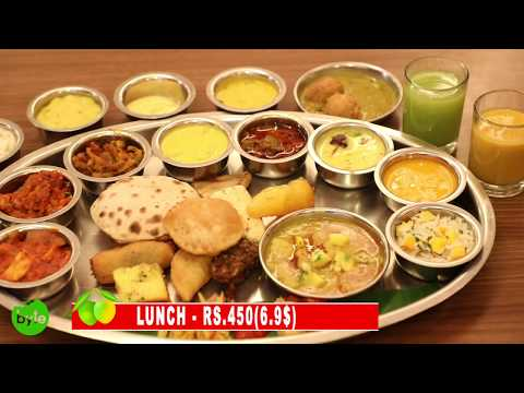 Best Veg Restaurant - Rajdhani | Amazing Indian Food with Mango