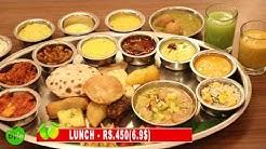 AMAZING VEG THALI | INDIAN FOOD | RAJDHANI THALI