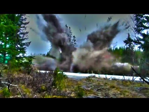 Exploding a House With Dynamite